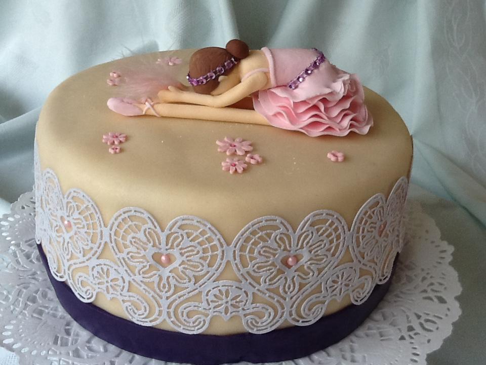 Ballet- taart