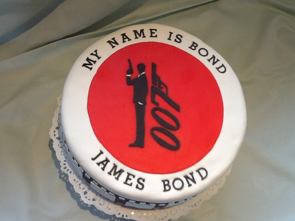 James Bond- taart