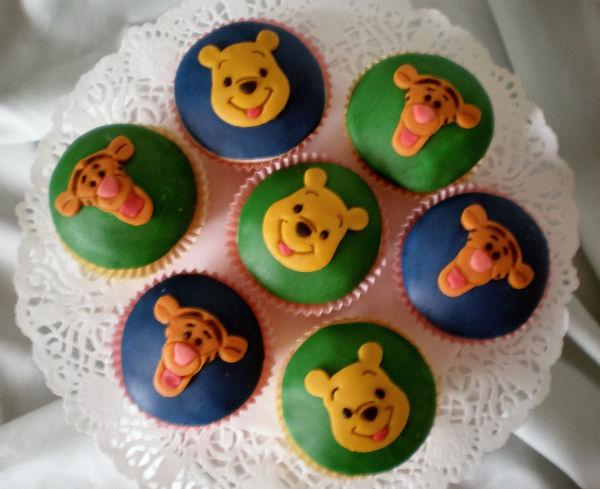 Winnie en Tijgertje taartjes